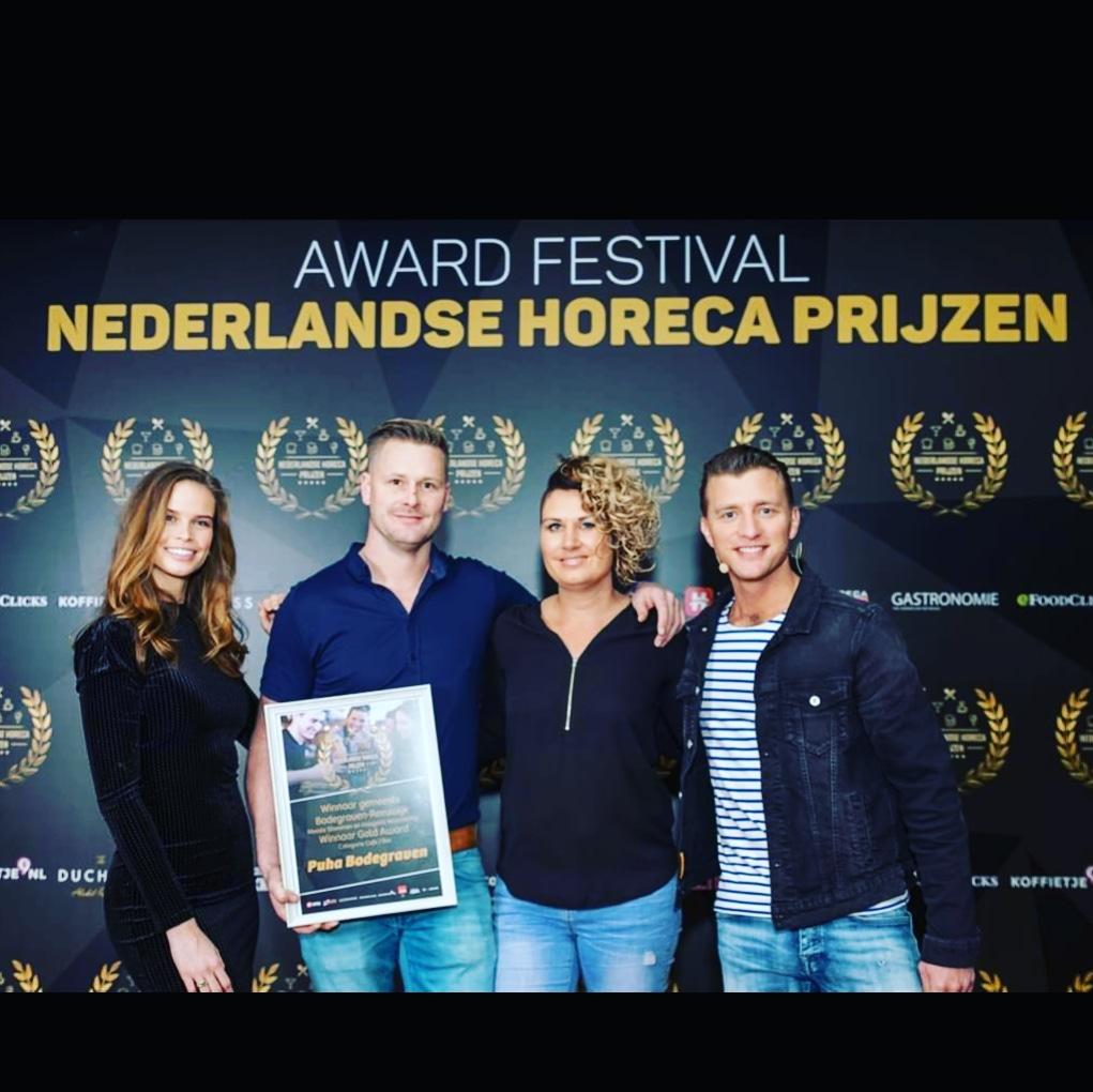 Gemeente Bodegraven Reeuwijk Gold Award Cafe Bar Nederlandse Horeca Prijzen